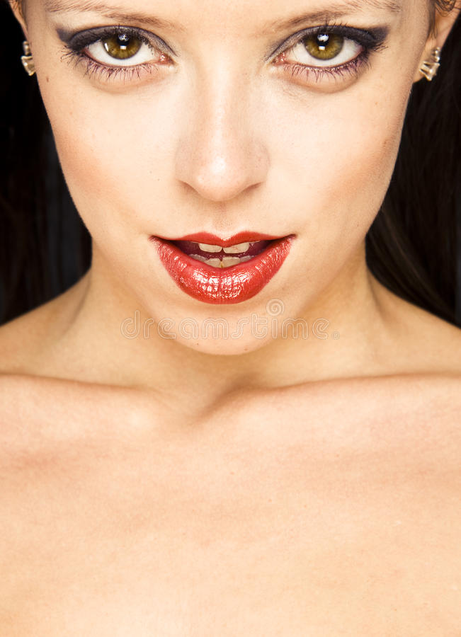 Download Close-up Portrait Of A Beautiful Woman Stock Image - Image: 11142631