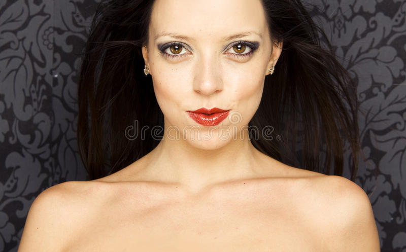 Download Close-up Portrait Of A Beautiful Woman Stock Photo - Image: 11142642