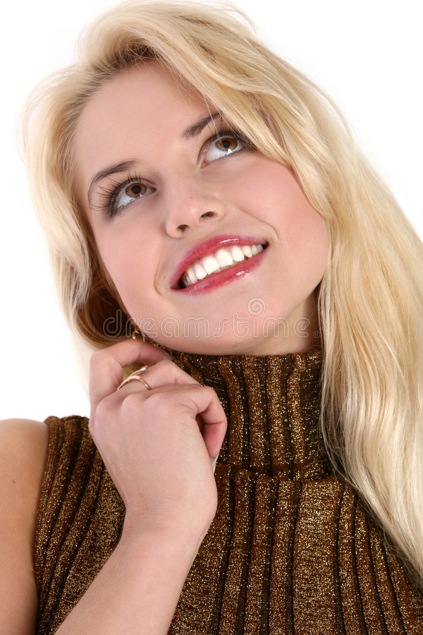 Download Close-up Portrait Of A Beautiful Young Woman Stock Photography - Image: 7408922