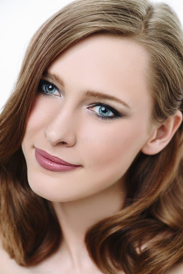 Face of beautiful girl stock image