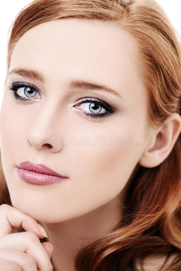 Cosmetics for youth stock images