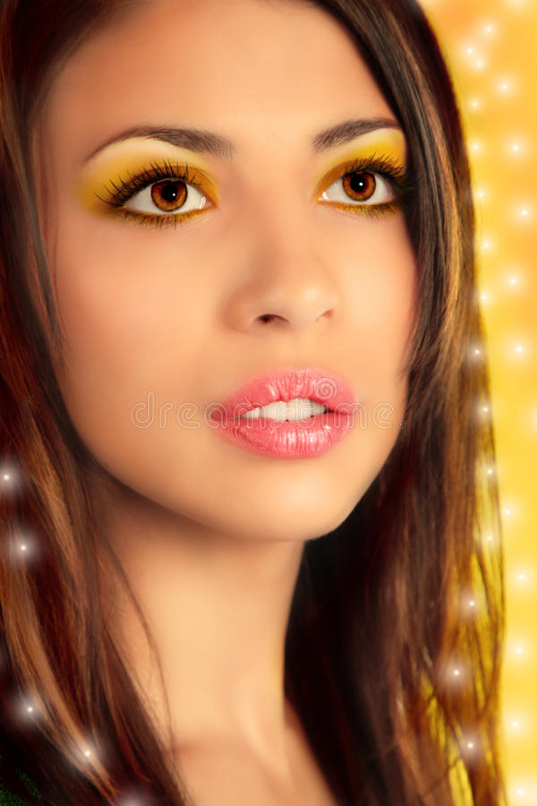Download Close-up Portrait Of Beauty Girl, Collage Stock Photos - Image: 14451263