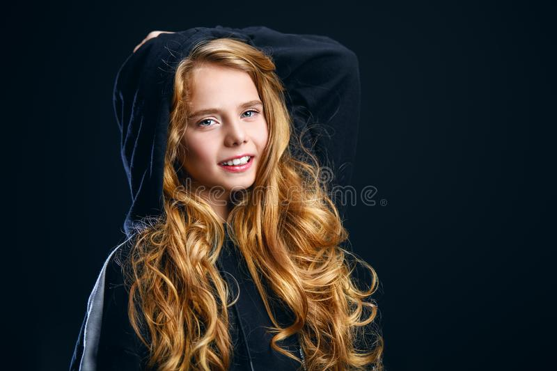 Smiling young girl royalty free stock images