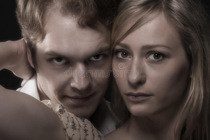 Download Close Up Portrait Of Husband And Wife Stock Image - Image: 34183079