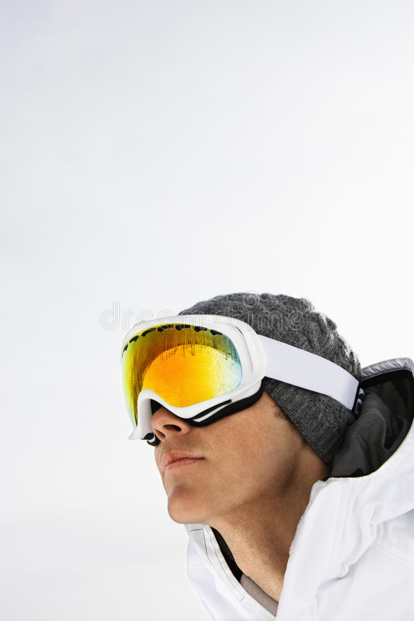 Download Close-up Portrait Of Male Skier Royalty Free Stock Photos - Image: 12619238