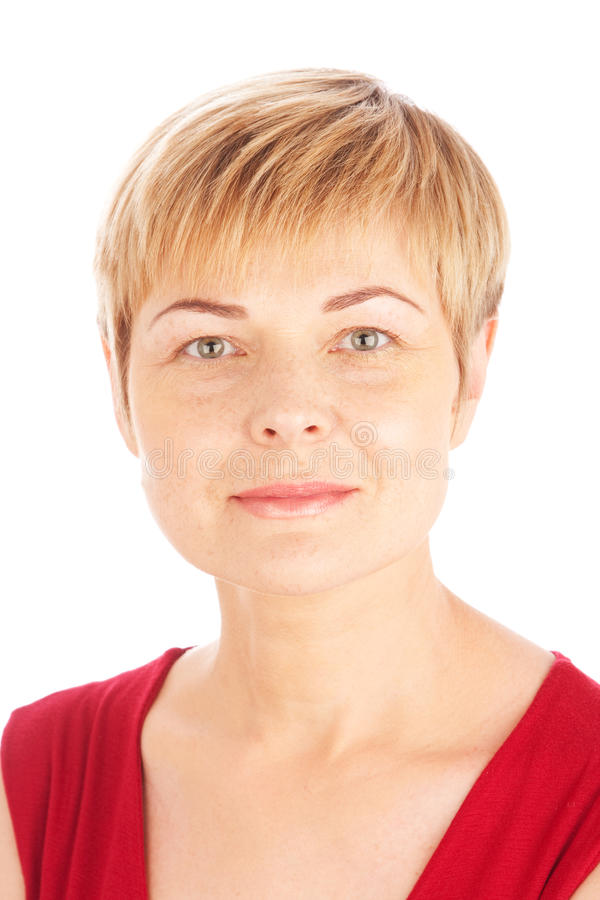 Free Close Up Portrait Of Woman Stock Photos - 14570333