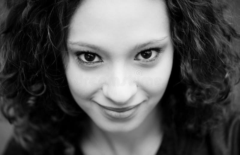 Close-up Portrait Of Smiling Girl Free Public Domain Cc0 Image