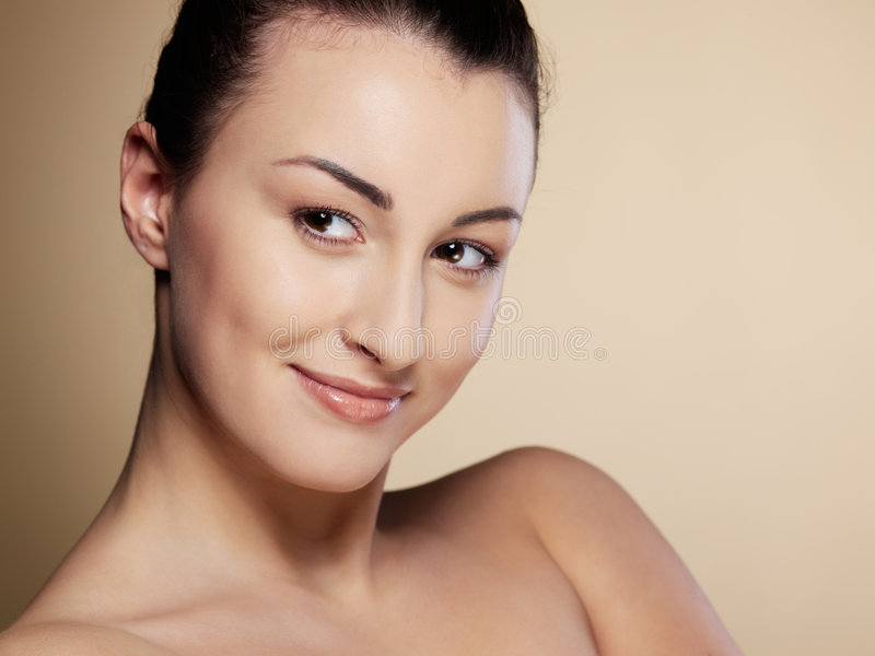 Download Close-up Portrait  Young Woman Stock Photo - Image: 8972680