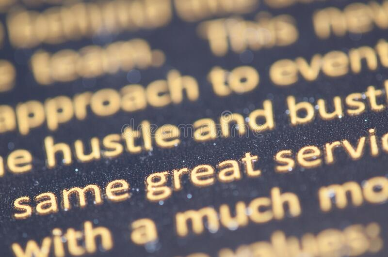 Close Up Of Printed Text Free Public Domain Cc0 Image