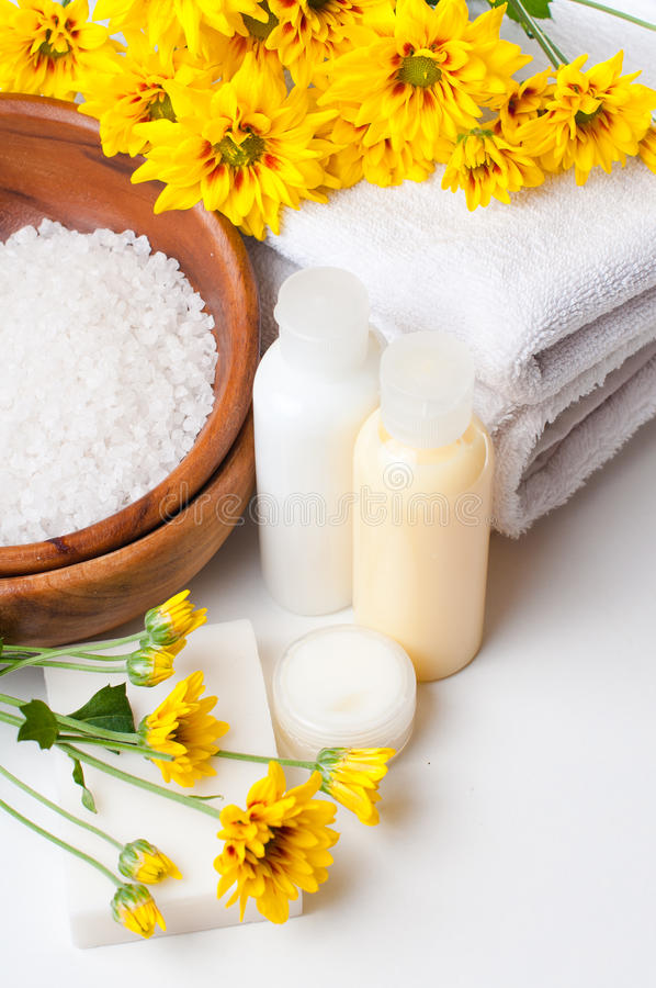 Download Close-up Of Products For Spa And Body Care Royalty Free Stock Image - Image: 26570076