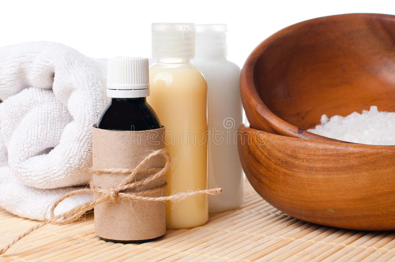 Download Close-up Of Products For Spa And Body Care Stock Photo - Image: 26570638