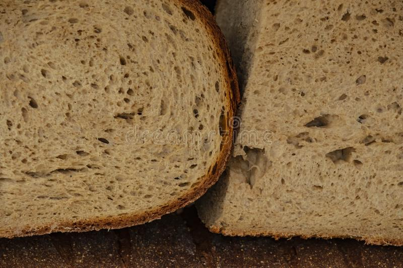 Close up breads on market stall. Close up ready to eat breads on market stall royalty free stock images