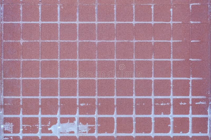 Close up the rear of  floor tile, abstract floor tile construction textured background stock images