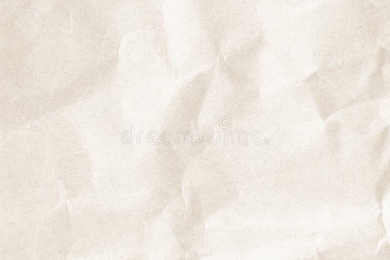 Close up reciclado natural do papel ou do documento da textura s do enrugamento imagens de stock