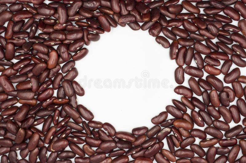 Close up Red beans background, Red beans seeds stock photos