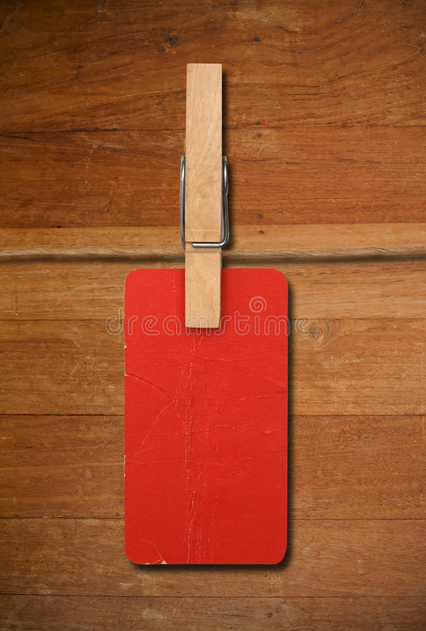 Download Close Up Of Red Post It Reminders And Clothespins Stock Image - Image of aged, post: 39506425
