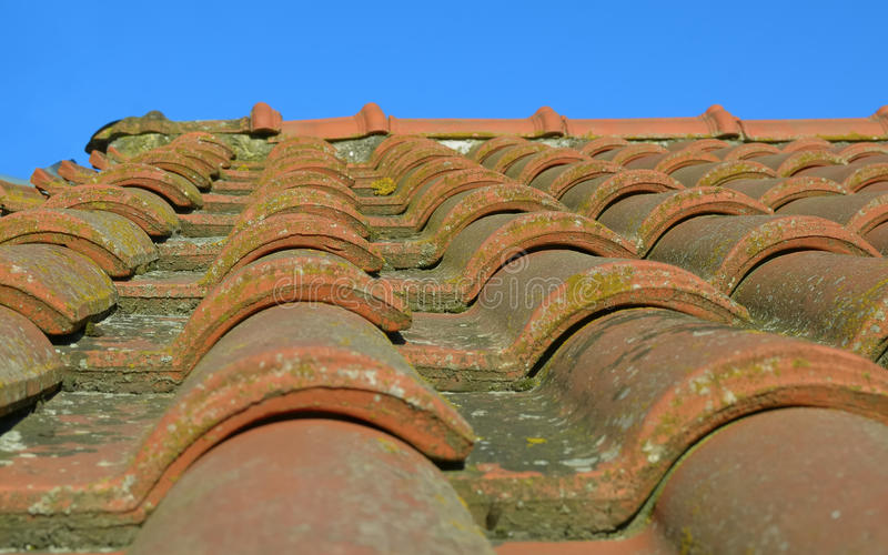 Roman Roof Tiles Stock Image Image Of Tiled Medieval