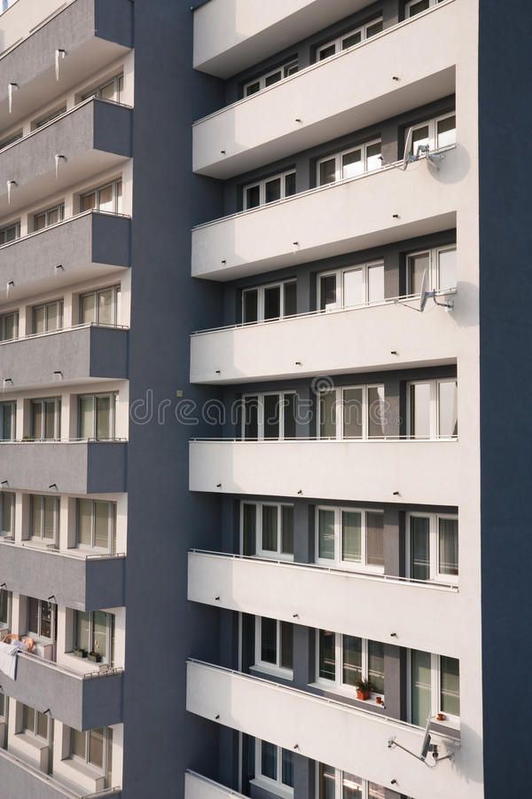 Close-up of residential building stock photos