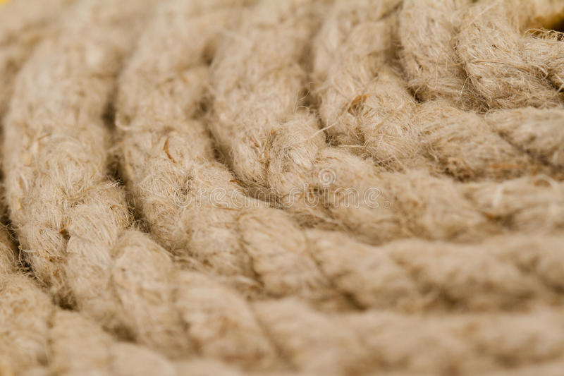 Close up of rope spiral royalty free stock images