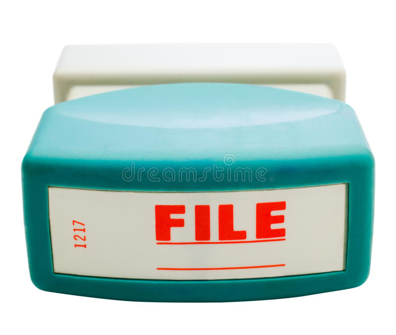 Download Close-up of rubber stamp stock photo. Image of file, equipment - 28005284