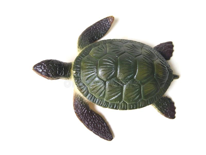 Sea turtle toy. stock photo