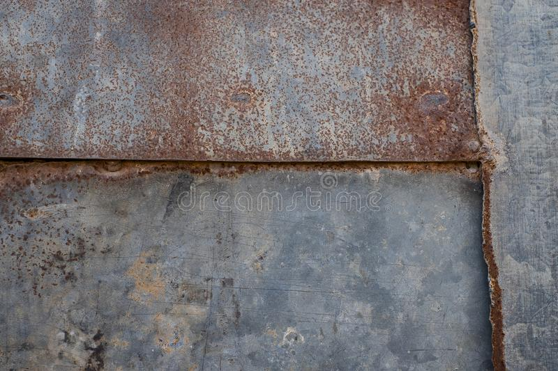 Close up rust on surface of the old iron royalty free stock images