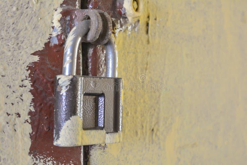 Old Rusty Lock And Key Stock Image Image Of Keyhole