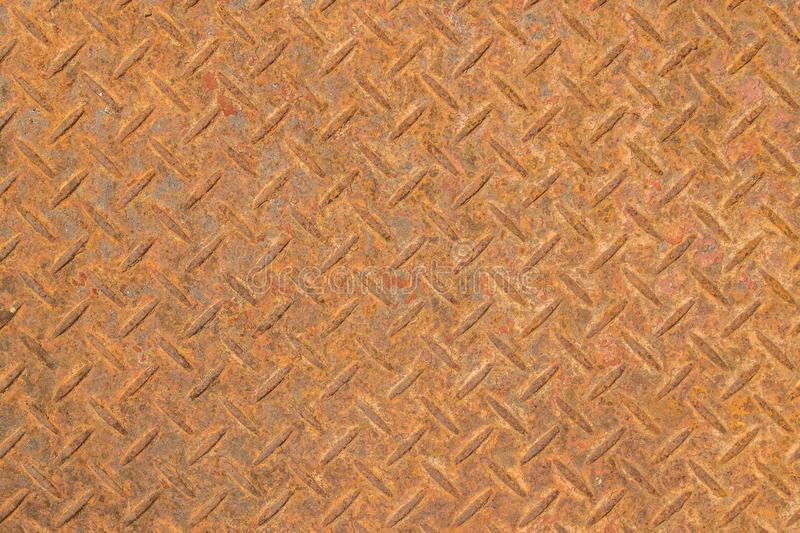 Close up of rusty steel floor texture background royalty free stock image