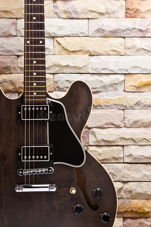 Download Close Up Semi Hollow Guitar Stock Photography - Image: 25556172