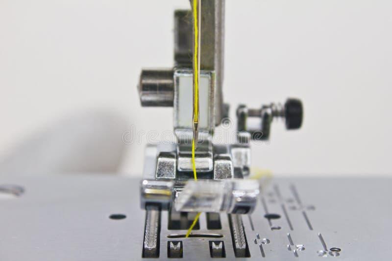 Close - up of sewing machine