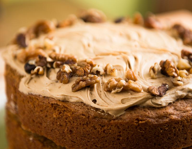 Close Up Shot of Brown Pastry stock photo