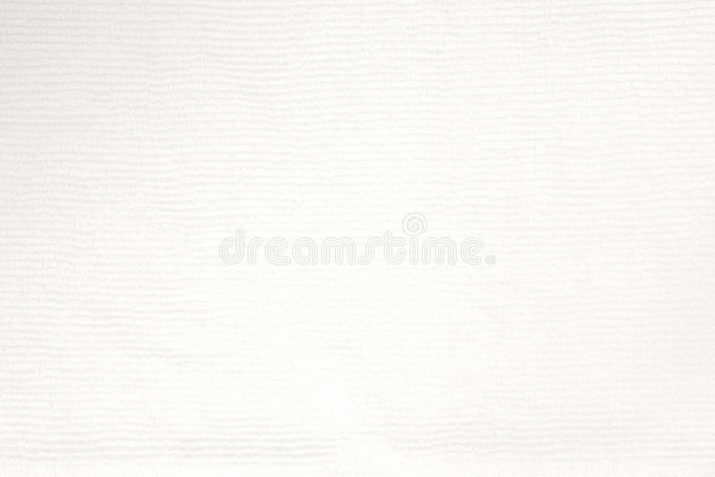 Close up shot of white microfiber cloth texture for background. White microfiber cloth texture for background stock images