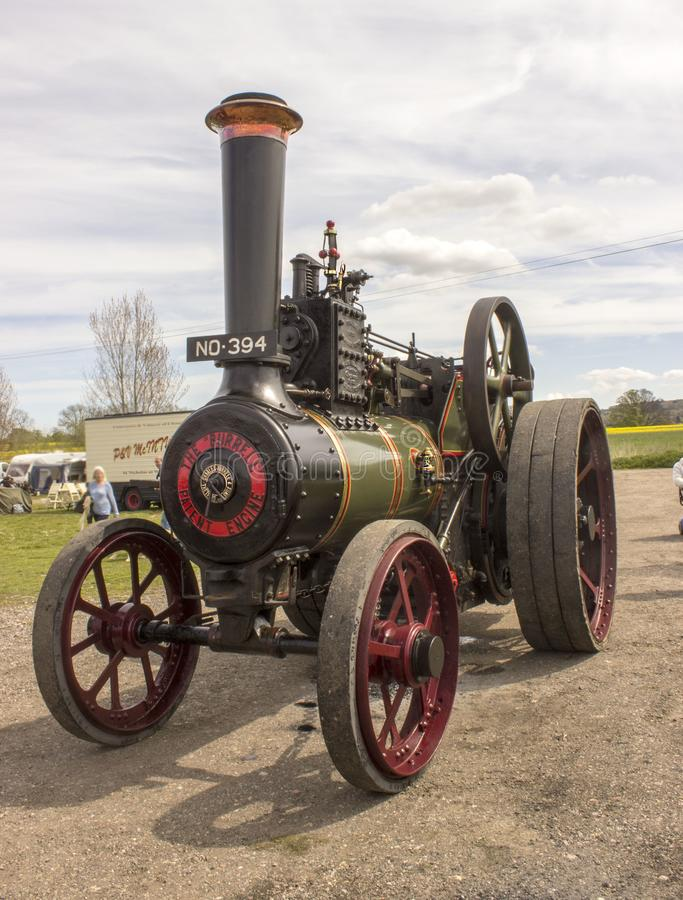 Close up of the side of a steam engine royalty free stock photography