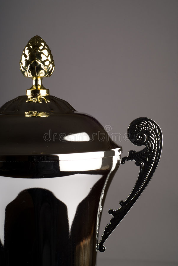 Download Close up of silver trophy stock photo. Image of event - 8900128