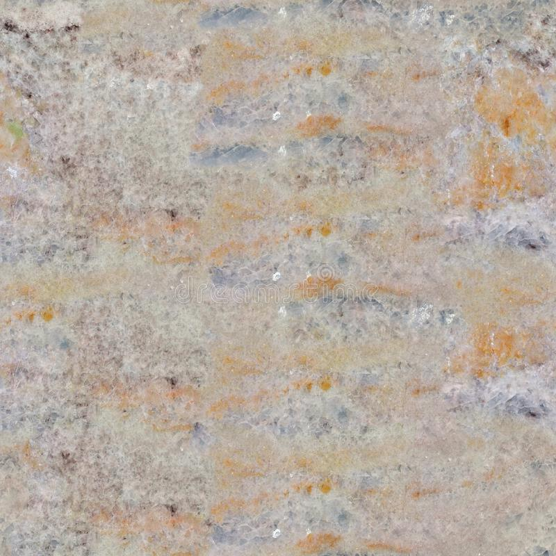 Close up of slab of raw light marble. Seamless square background, tile ready. stock illustration