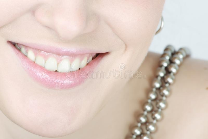 Close Up Of A Smiling Woman Free Stock Image