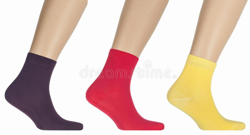 A close up of a sock. High quality photo royalty free stock photos