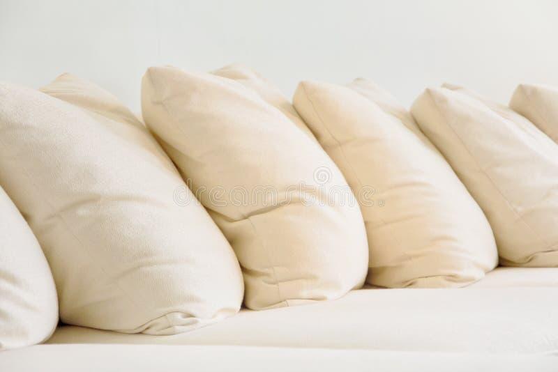 Close up of Soft cushion royalty free stock image