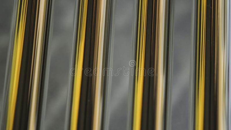 Close up solar heater tubes. Close up of a solar heater tubes, enviroment, ecological, water and save the plantet royalty free stock photos