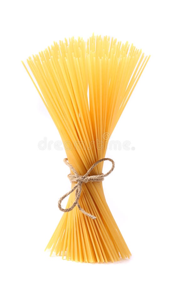 Download Close Up Of Spaghetti Isolated Stock Image - Image: 31799385