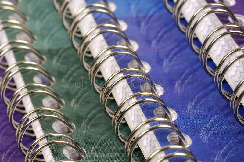 Download Spiral bound exercise book stock image. Image of book - 30104103