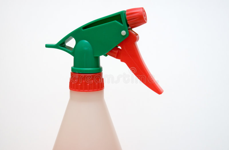 Download Close Up Of Spray Bottle Head And Nozzle Stock Photo - Image: 7586680