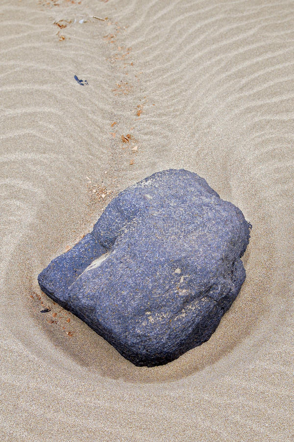 Download Close-up Of A Stone On The Beach Of Lanzarote Stock Image - Image of holiday, outdoors: 31971523