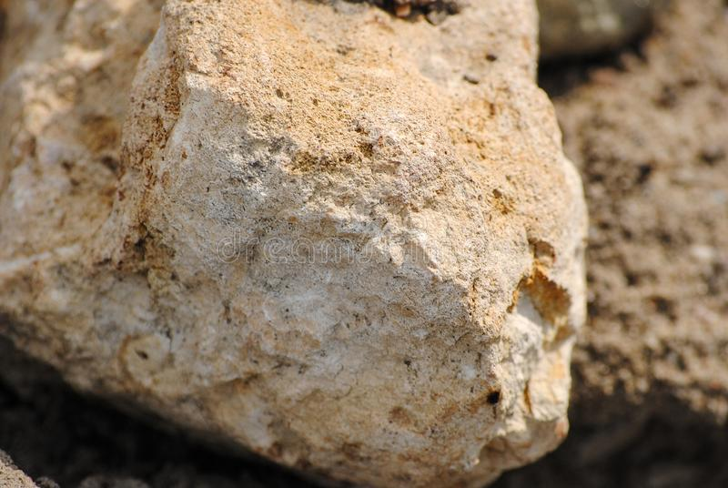 The texture of the stone. royalty free stock photography