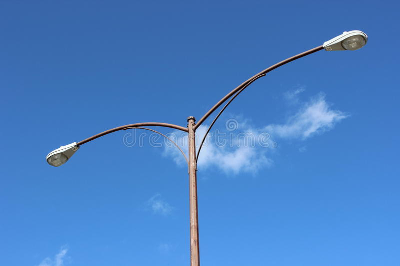 Download Close up streetlamp stock photo. Image of cloud, close - 42344048