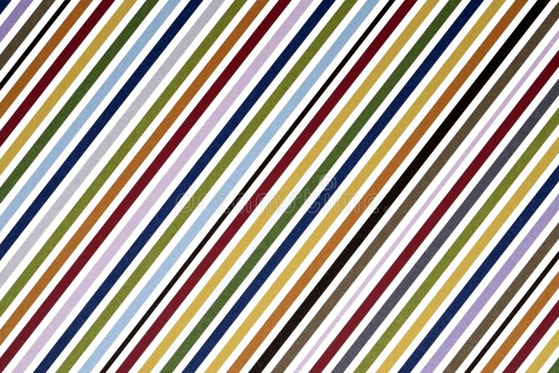 Close up of stripe pattern paper stock illustration