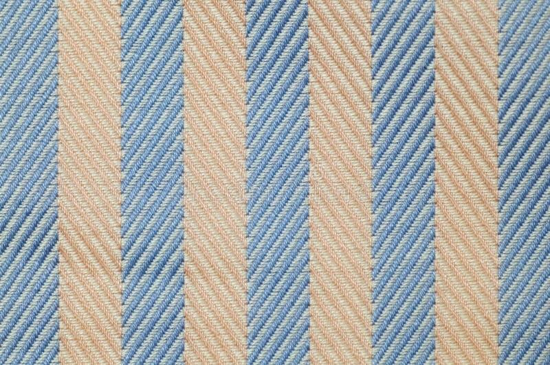 Close up stripes fabric texture stock photo