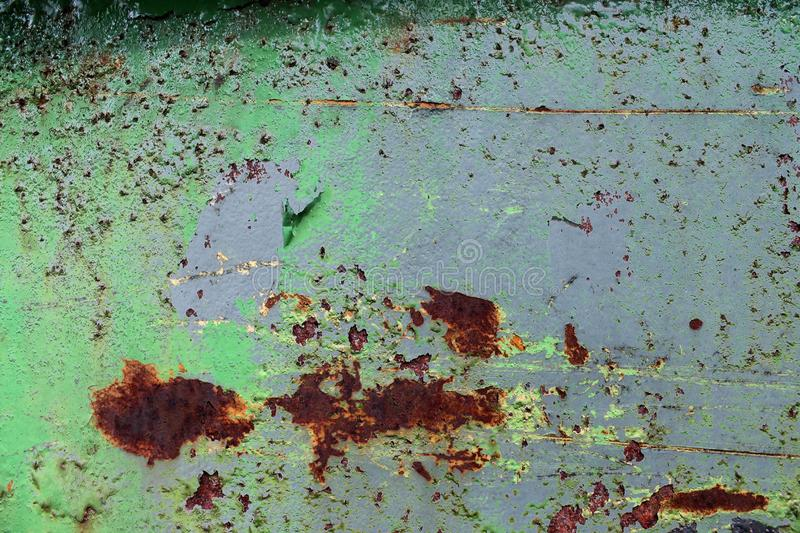 Close up surface of aged and weathered rusty metal surfaces in high resolution. Captured in germany stock photos
