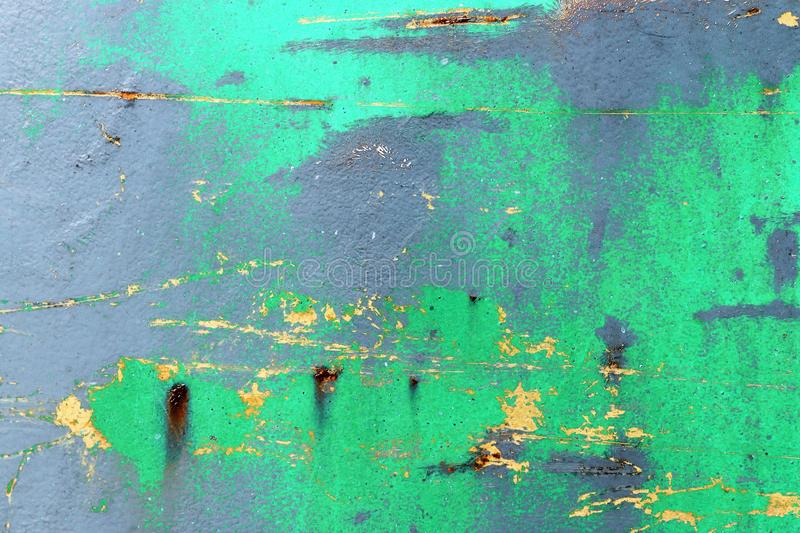 Close up surface of aged and weathered rusty metal surfaces in high resolution. Captured in germany stock images