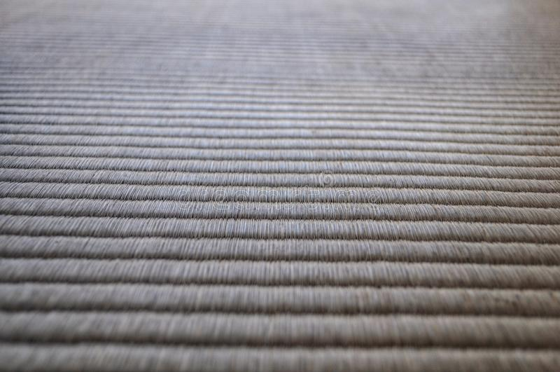 Old tatami mat. Close up on tatami mat for background use royalty free stock photo